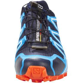 Salomon Speedcross 4 GTX Shoes Men navy blazer/cloisonné/flame